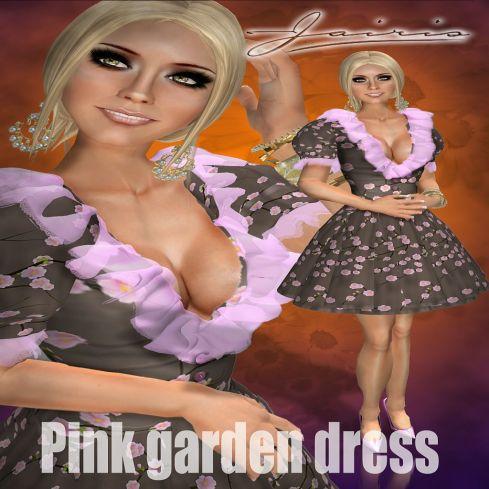 PINK GARDEN DRESS