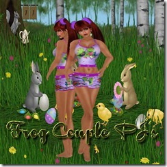 FRog couple pj's 25L