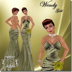 WENDY GOLD SALE!