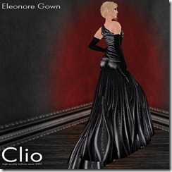 (Clio)- Eleonore Black GownPIC