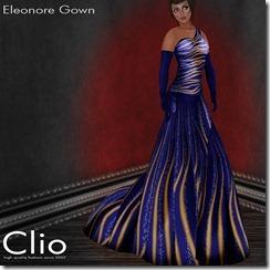 (Clio)- Eleonore Blue GownPIC