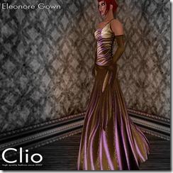 (Clio)- Eleonore Brown GownPIC