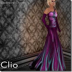 (Clio)- Eleonore Purple GownPIC