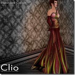 (Clio)- Eleonore Wine GownPIC
