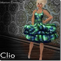 (Clio)- Marion Blue DressPIC