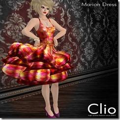 (Clio)- Marion Spring DressPIC