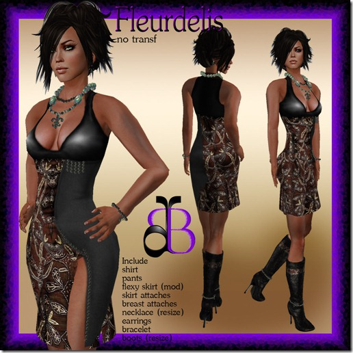 _Dafne Boutique_ FLEURDELIS BROWN