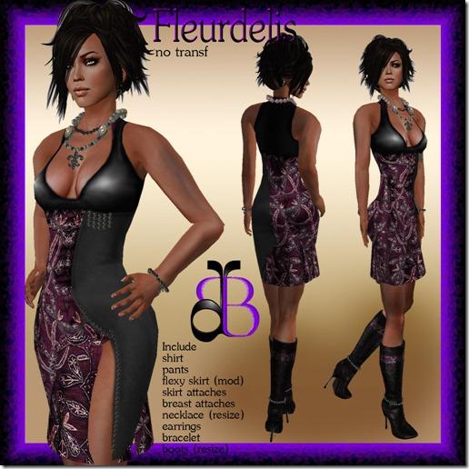_Dafne Boutique_ FLEURDELIS PINK