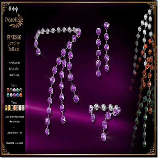 DANIELLE Finesse Jewelry Full Set
