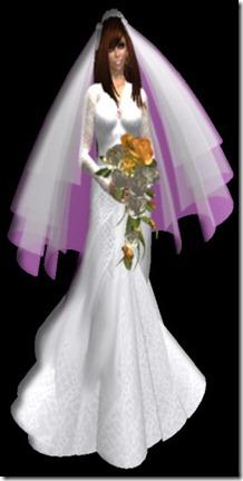 kate wedding cutout