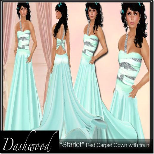 Dashwood _Starlet_ aqua Model