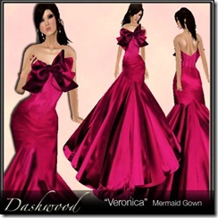 Dashwood - _Veronica_ Magenta model