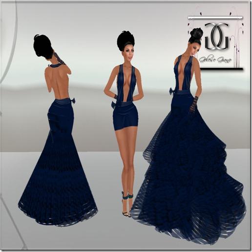 Le femme prive couture blue - ad1