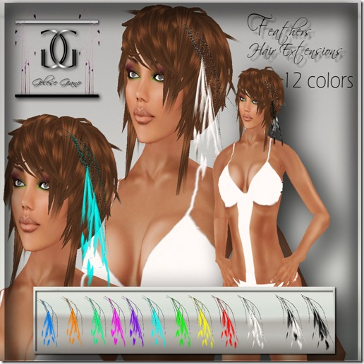 Feather  hair  extensions -ad
