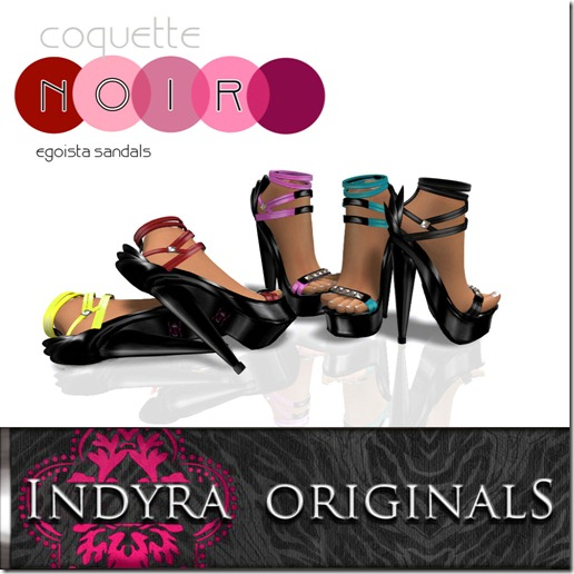 Indyra Originals _Egoista_ platform sandals-Fall 2011 palatte