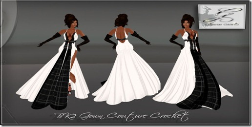 BK2 Gown Couture Crochet By Gelese Giano -ad 1