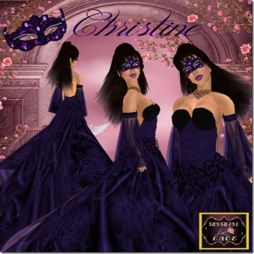Christine Gown Purple