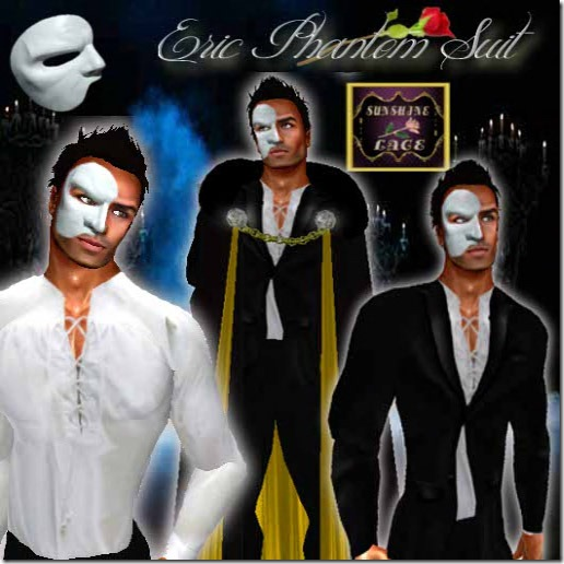 Eric Phantom suit Gold