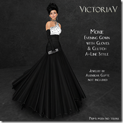 Moxie Gown A-Line