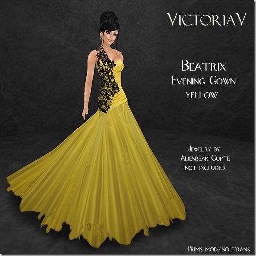 VictoriaV - Beatrix yellow