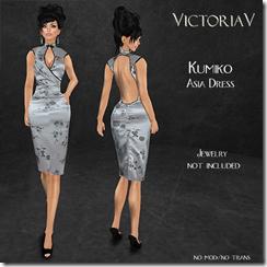 VictoriaV - Kumiko Asia Dress