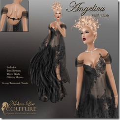 Mohna Lisas Angelica Half Black