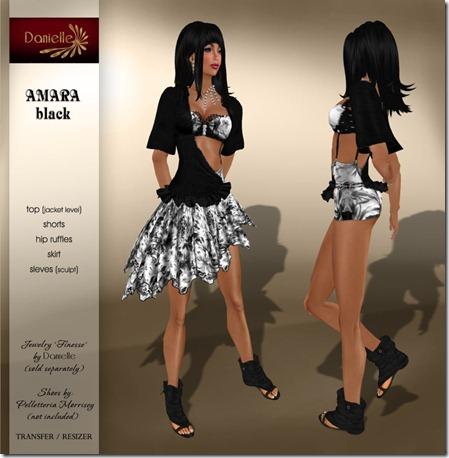 DANIELLE Amara Black