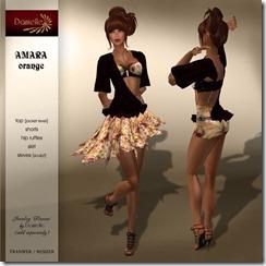 DANIELLE Amara Orange