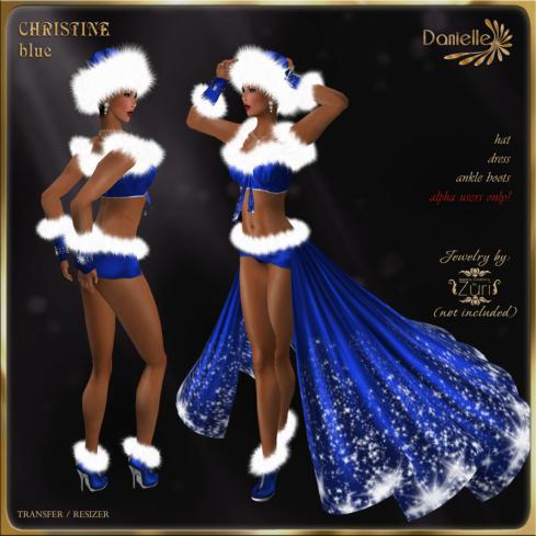 DANIELLE Christine Blue
