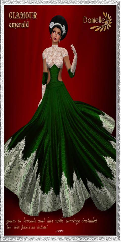 DANIELLE Glamour Emerald