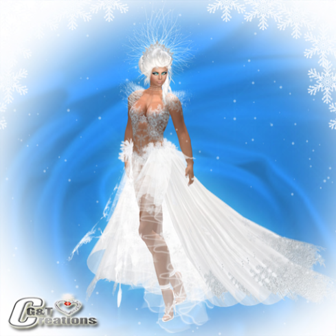 G&T Creations Vendor Ice gown2