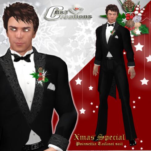 G&T vendor kerst 2012 tailcoat suit