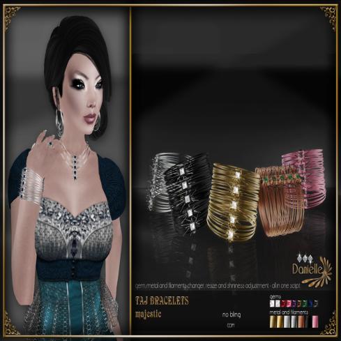 TAJ Bracelets - Majestic