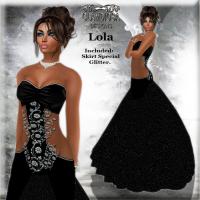 Lola's Ballroom Gown in Black