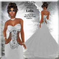 Lola's Ballroom Gown in White