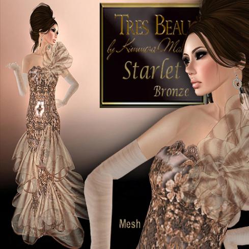 Tres Beau Starlet, bronze