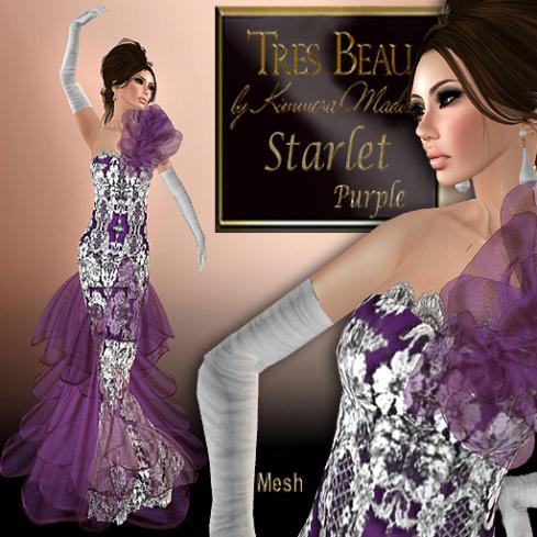 Tres Beau Starlet, purple