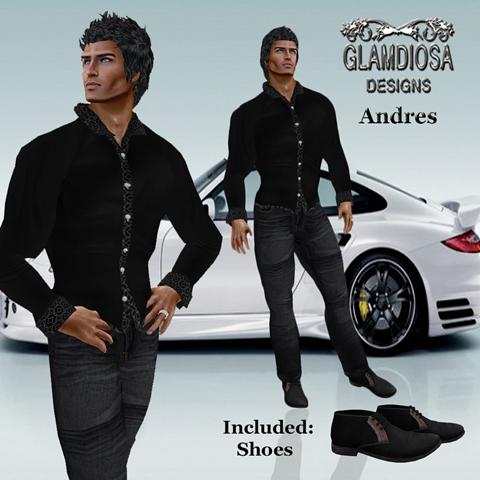 GLAMDIOSA ANDRES black