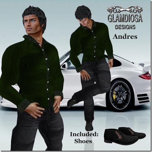 GLAMDIOSA ANDRES green