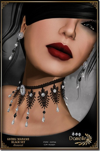 Madame Black Set Diamond