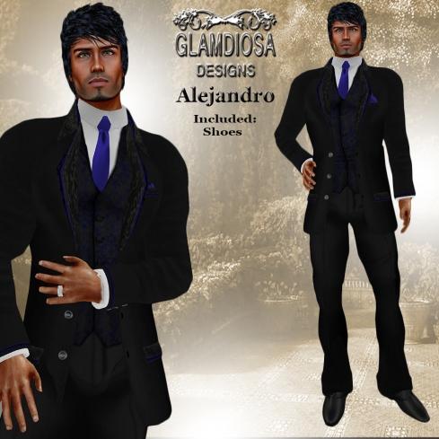 GLAMDIOSA ALEJANDRO black