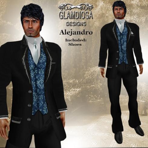 GLAMDIOSA ALEJANDRO blue