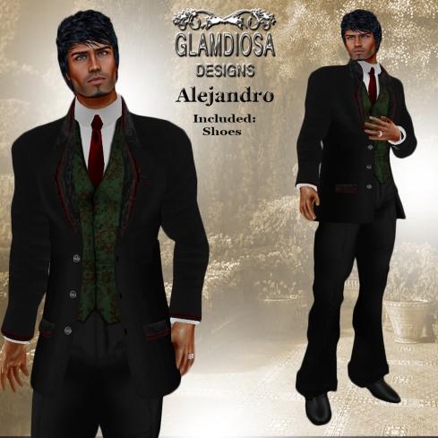GLAMDIOSA ALEJANDRO green
