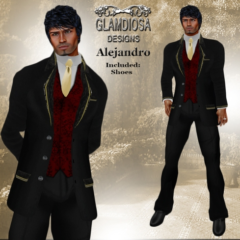 GLAMDIOSA ALEJANDRO red