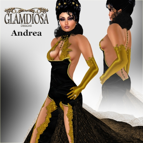GLAMDIOSA ANDREA black copy
