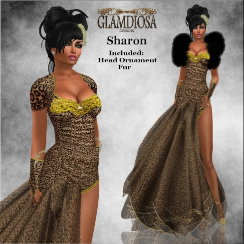 GLAMDIOSA SHARON gold copy