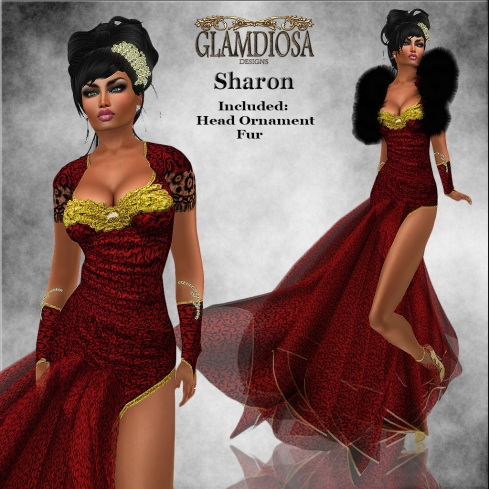 GLAMDIOSA SHARON red copy