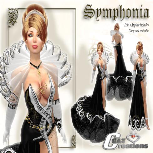 G&T symphonia VENDOR Black