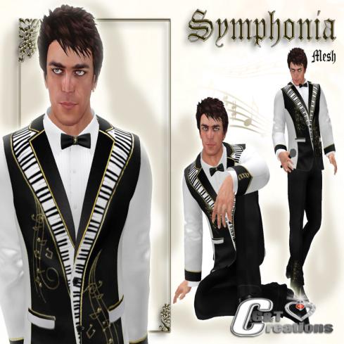 G&T symphonia VENDOR mesh  tuxedo