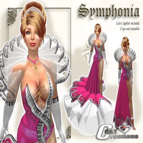 G&T symphonia VENDOR pink